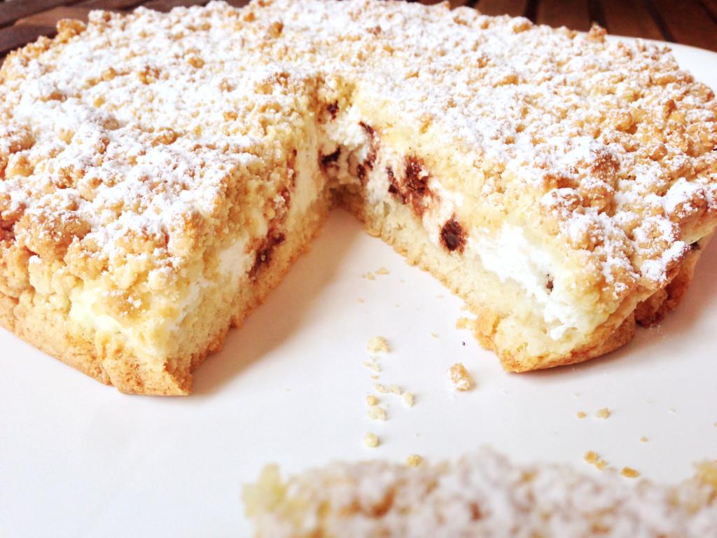torta sbriciolata alla ricotta