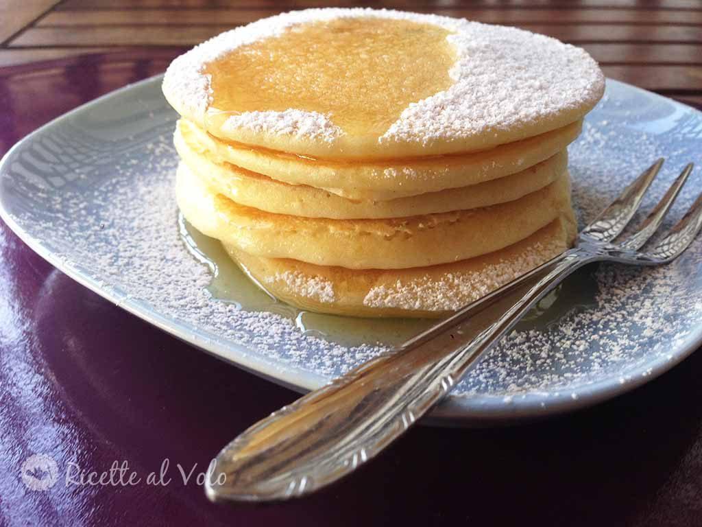 Pancakes americani ricetta classica