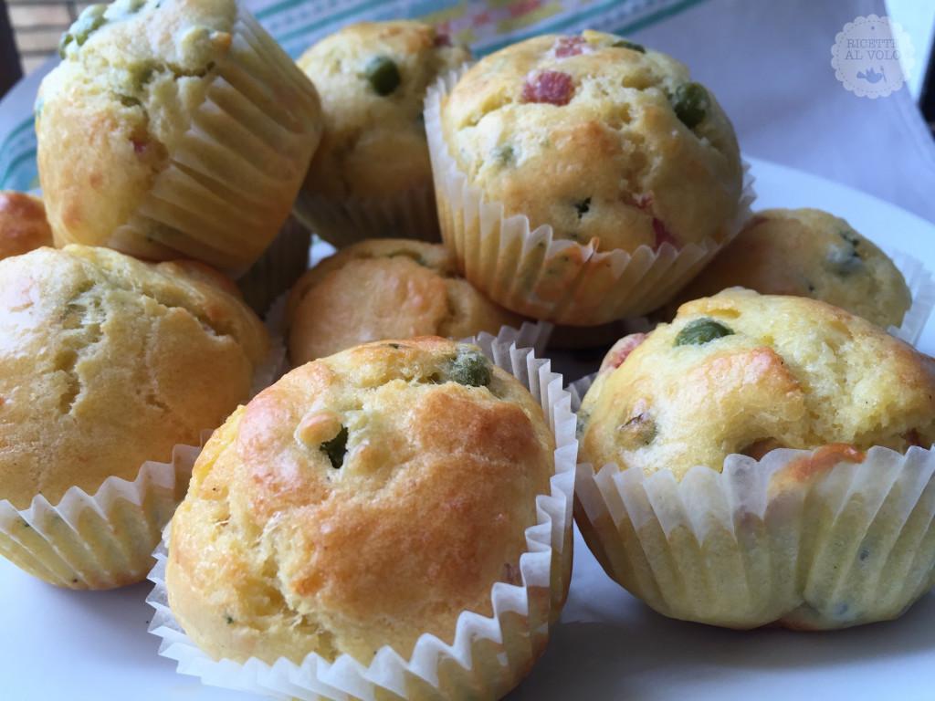 Muffin rustici salati con Grana Padano Dop