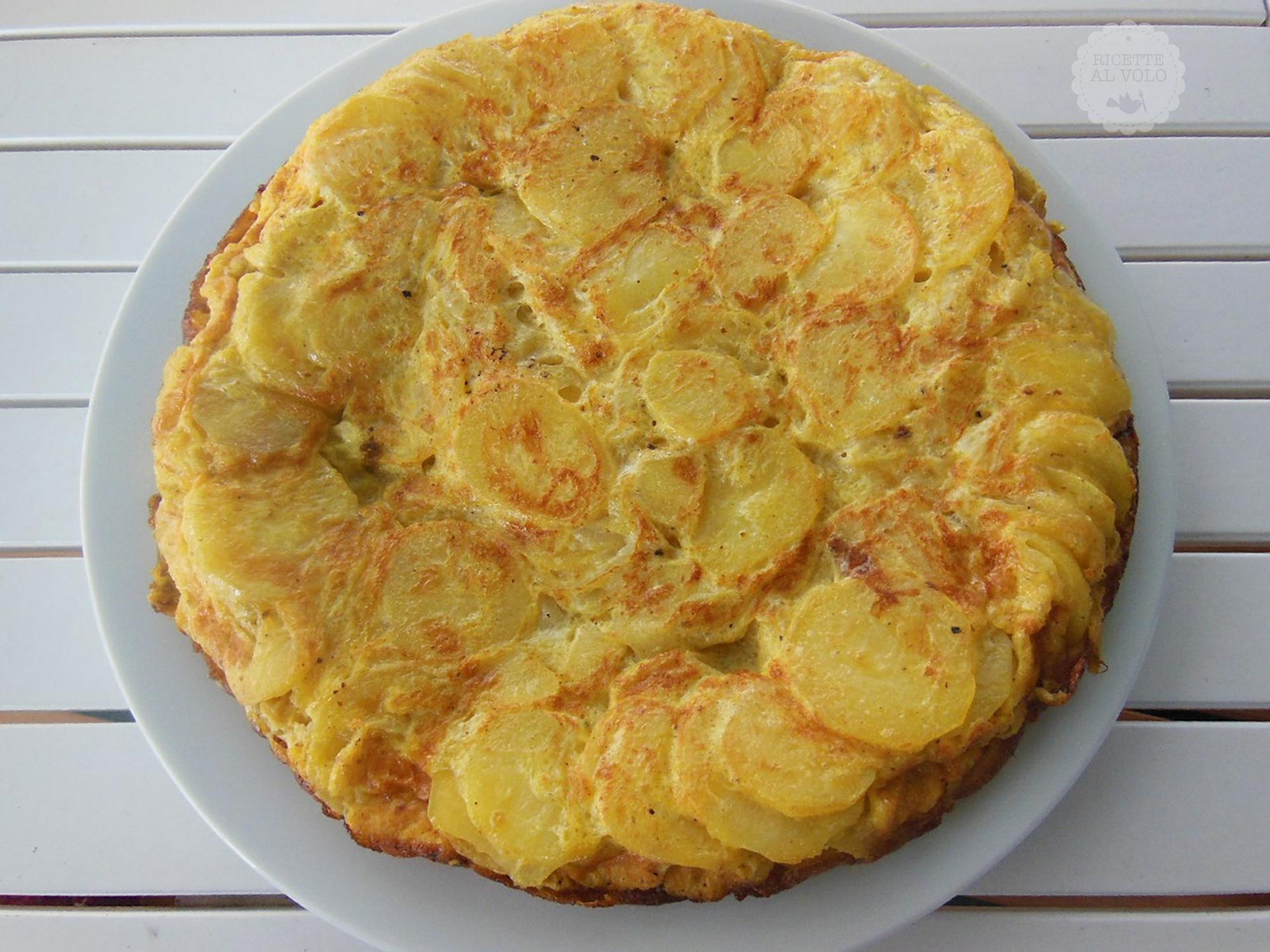 Ricetta Per Tortillas Spagnole.Ricetta Tortilla Spagnola Ricette Al Volo