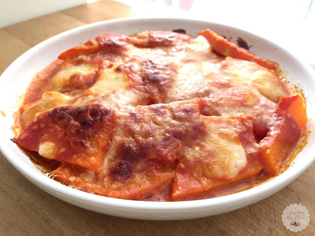 Ricetta della parmigiana di zucca