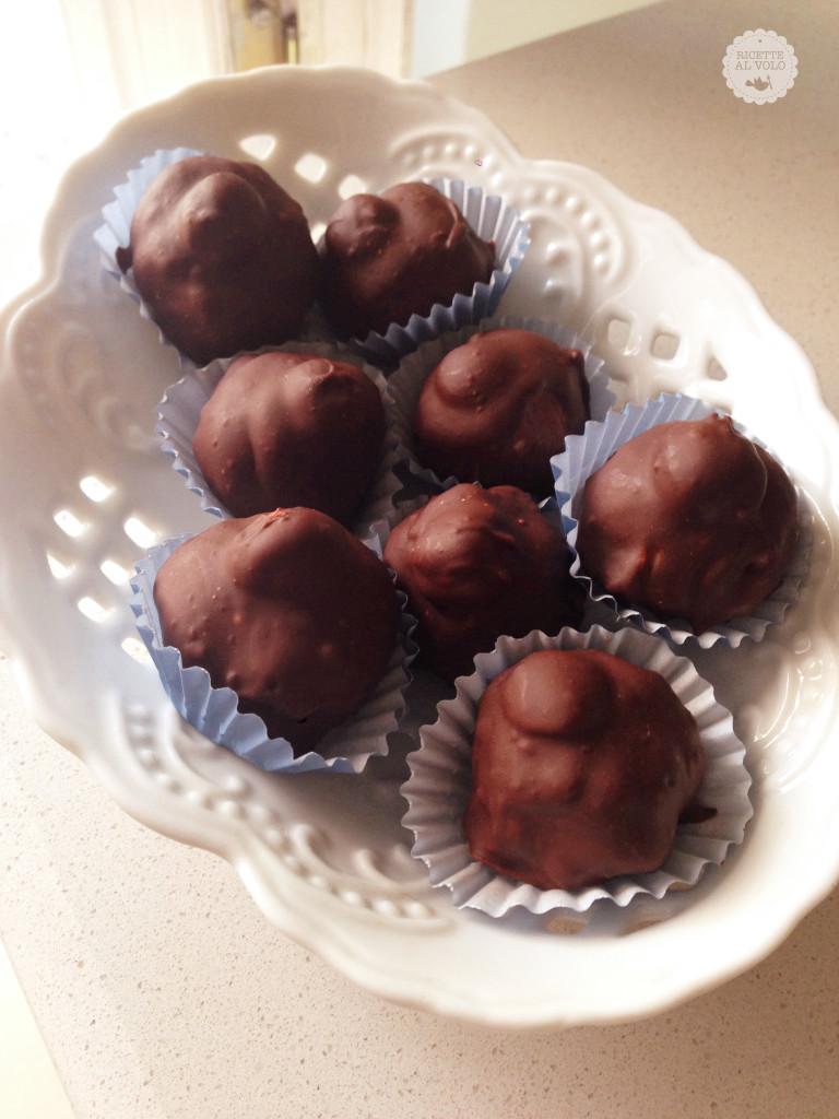 Cioccolatini baci fatti in casa