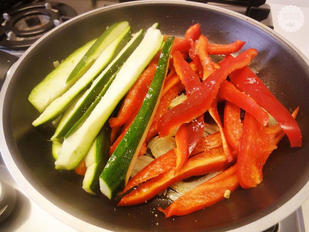 Involtini di carne ripieni di verdure