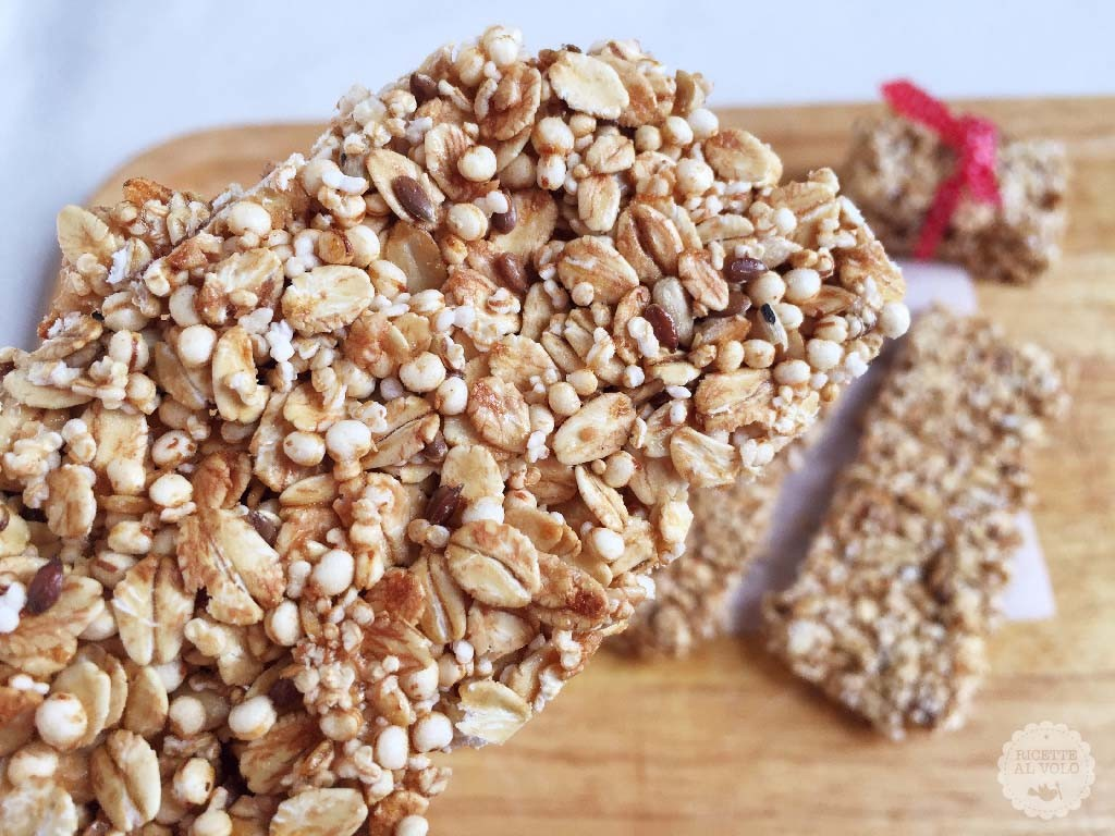 Barrette snack ai cereali