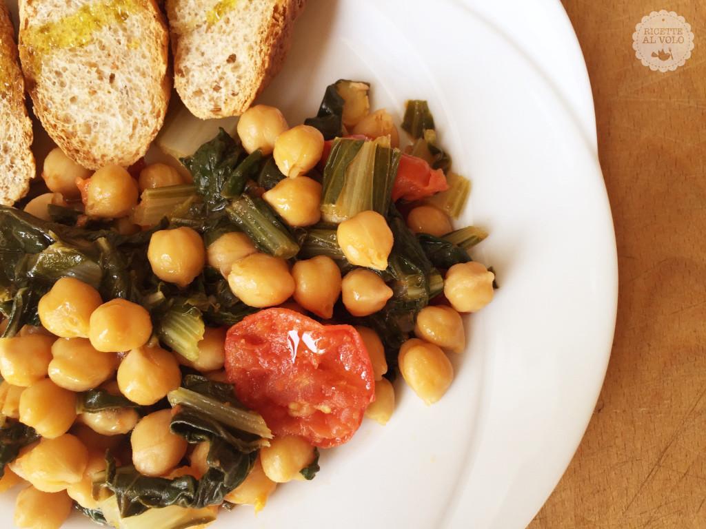 Mix vegetariano veloce in padella