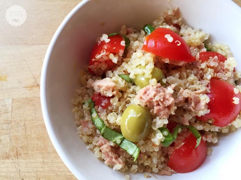 Ricette Quinoa Dietetiche.Insalata Di Quinoa Fresca E Leggera Ricette Al Volo