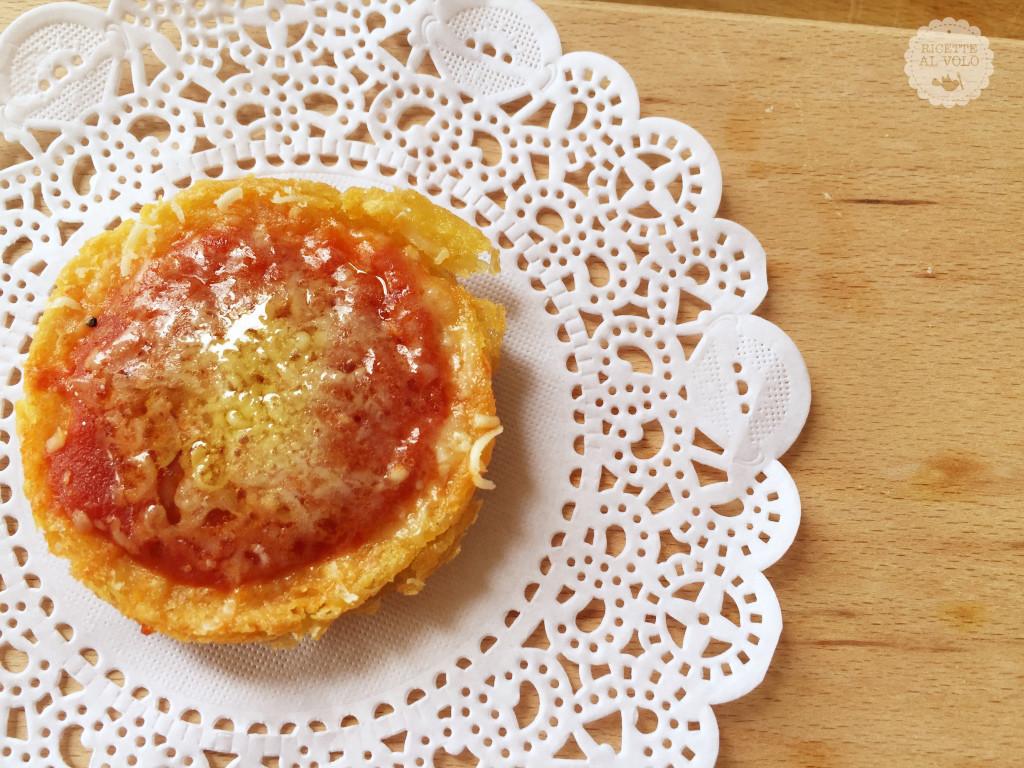 finte pizzette con farina di ceci
