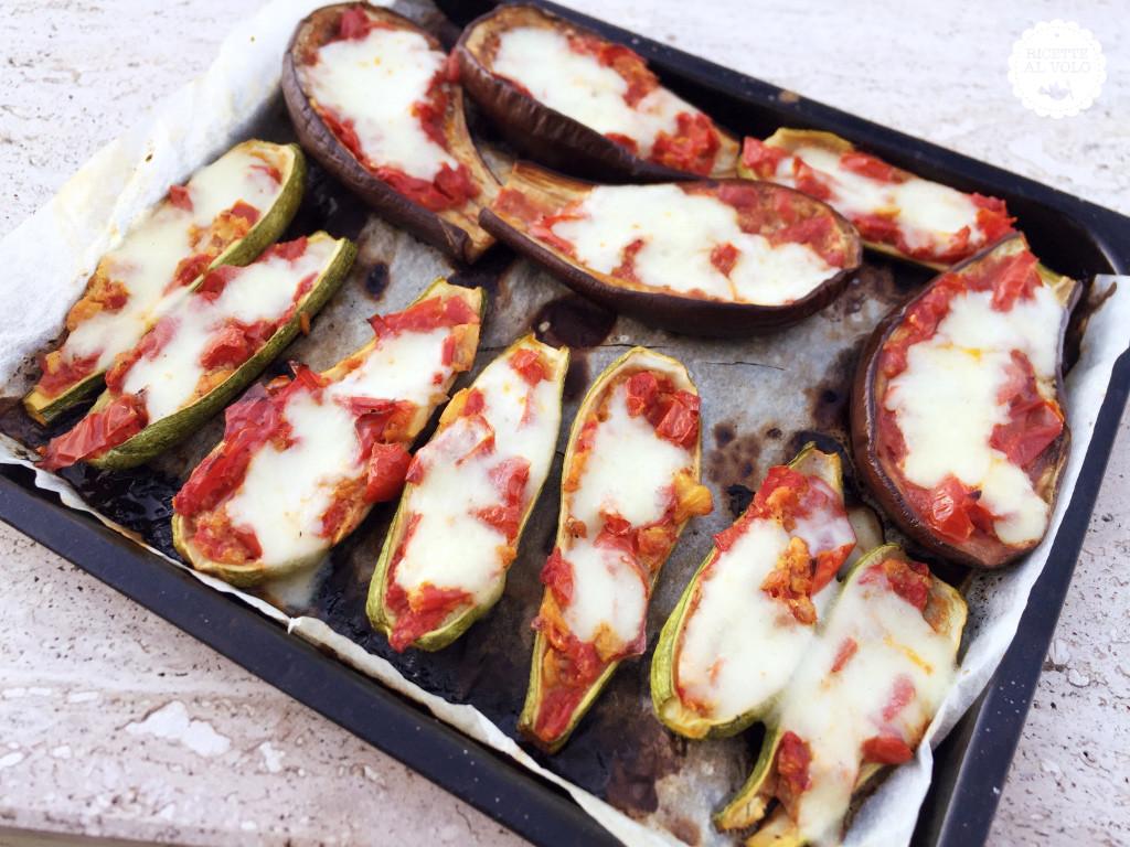Teglia di melanzane e zucchine al forno
