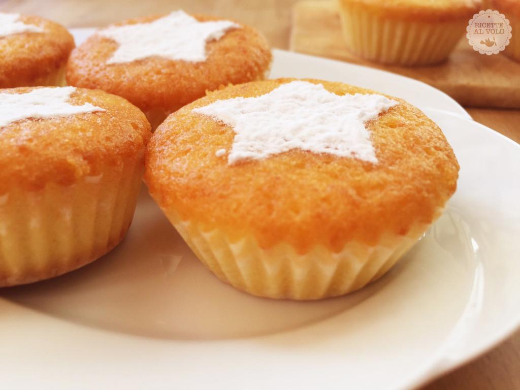 Muffin dolci alla zucca gialla