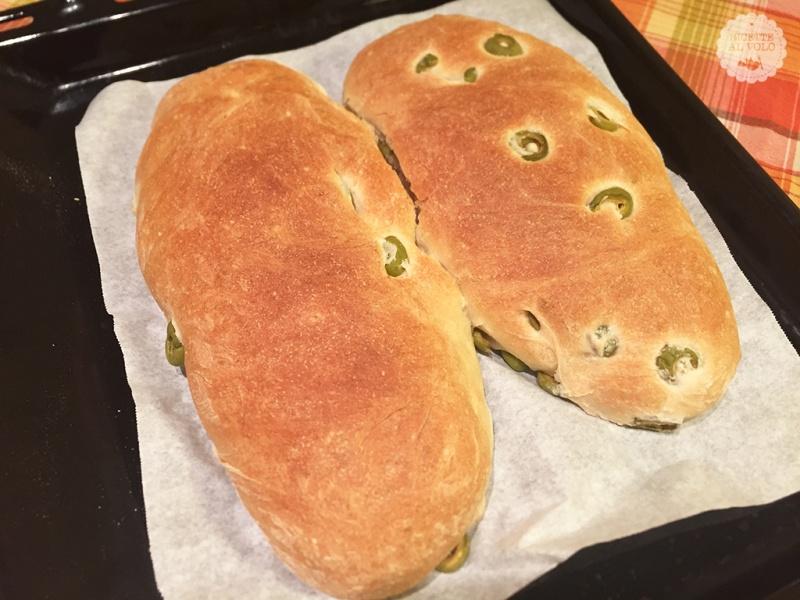 pane bianco olive