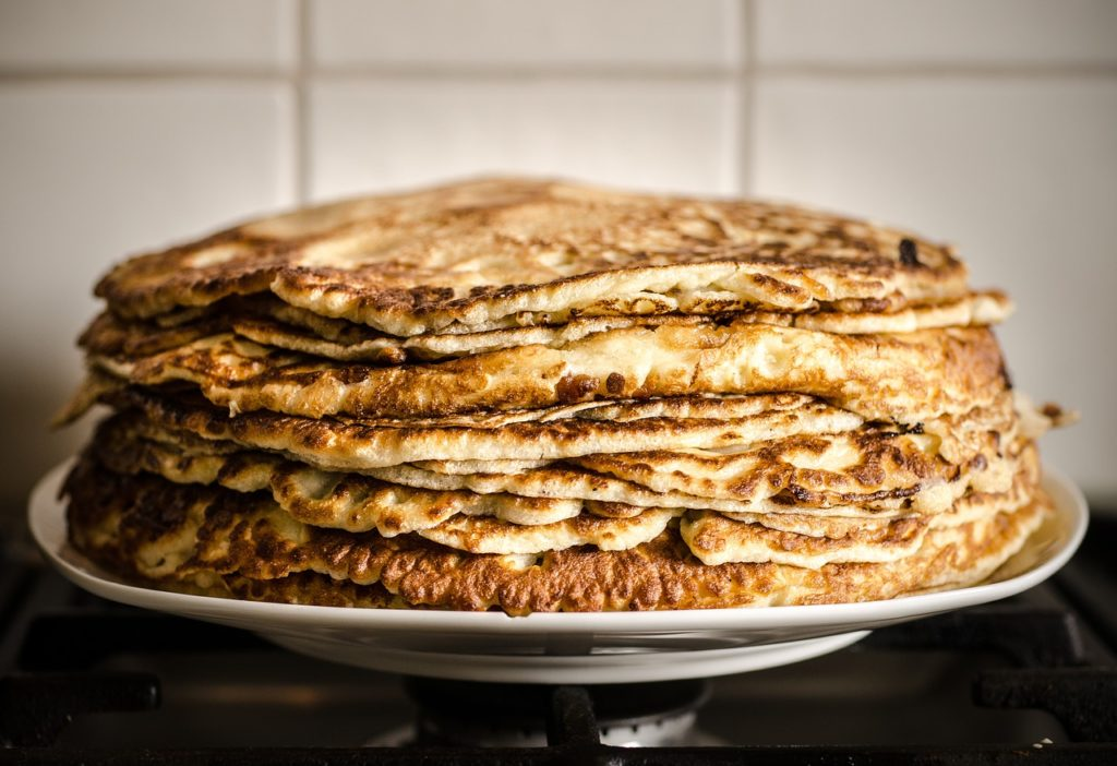 Pancakes con farina integrale