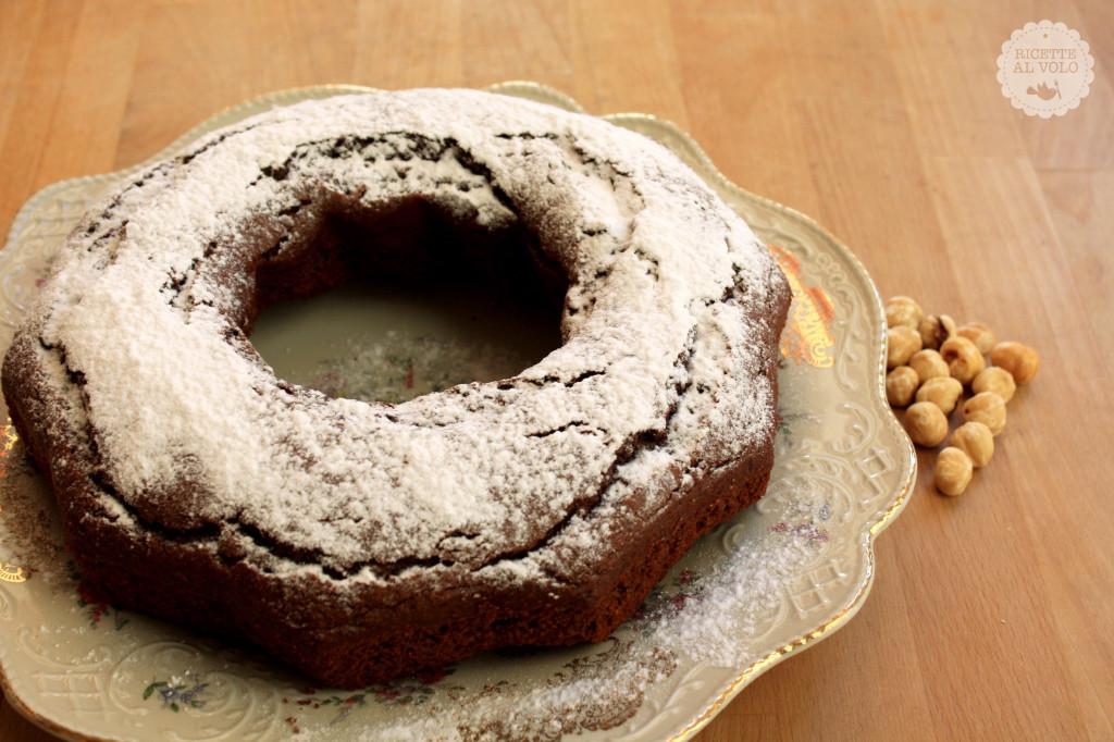 Torta al cioccolato con farina integrale