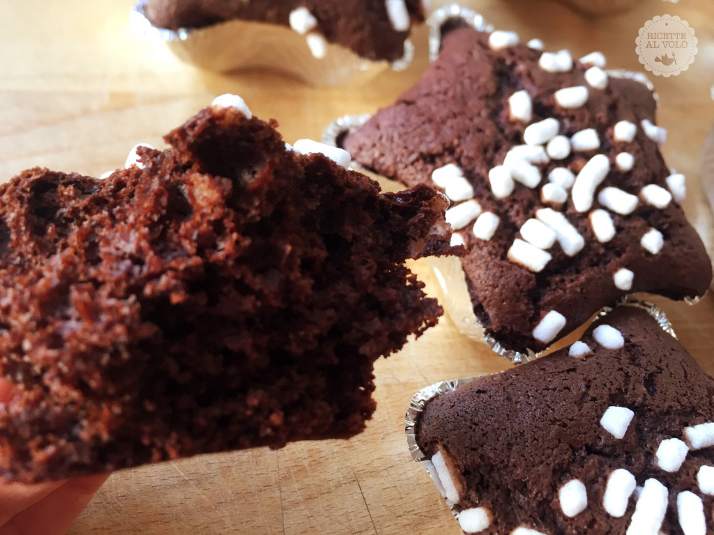 Tortine pan di stelle al cacao e arancia