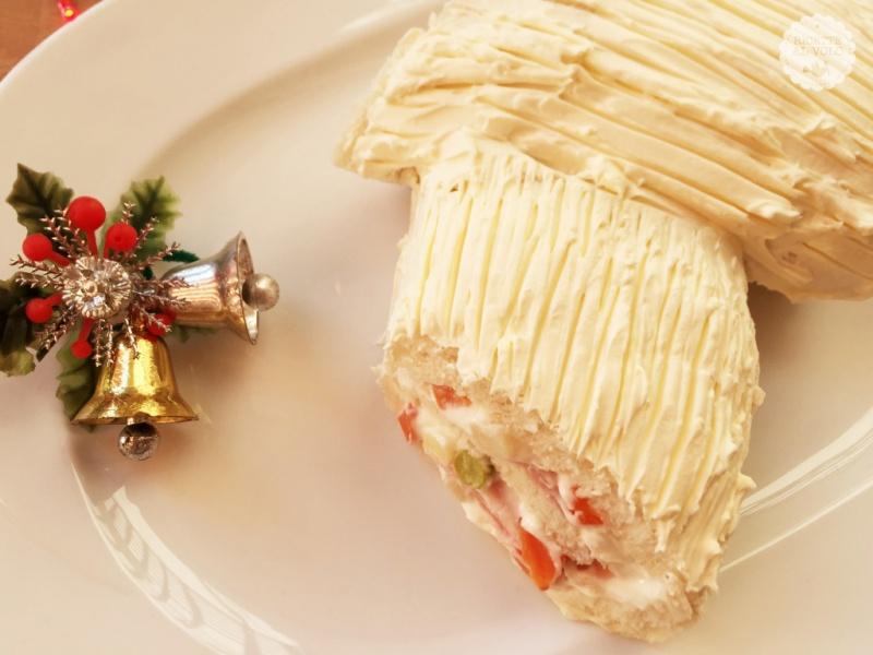 Tronco Di Natale Youtube.Tronchetto Di Natale Salato Facile Ed Economico Ricette Al Volo