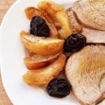 arrosto patate e prugne