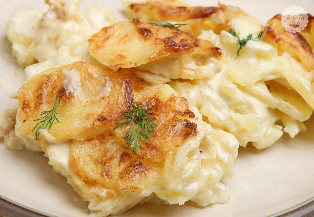 La tentazione di Jansson - patate alla svedese