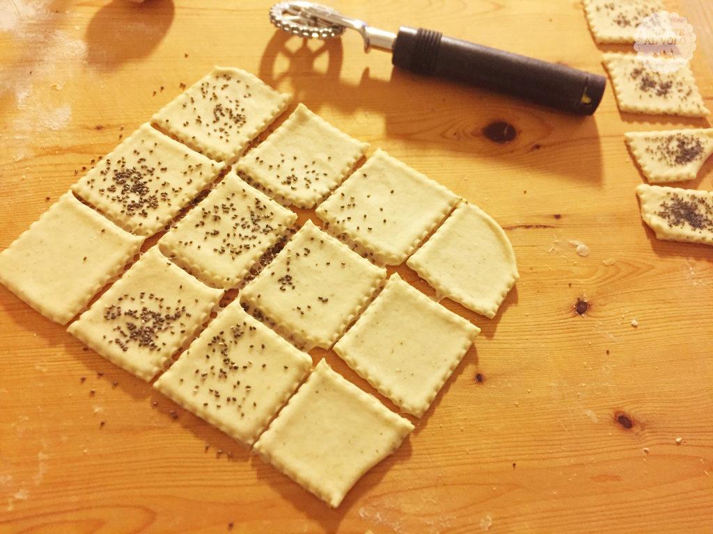 Crakers con farina di farro
