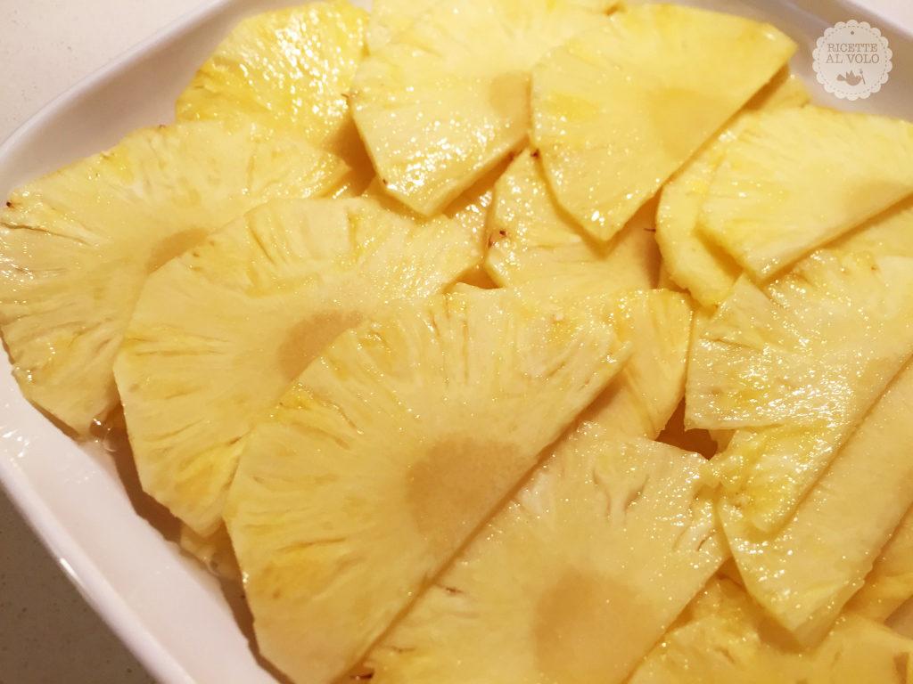 Ananas marinato allo zenzero