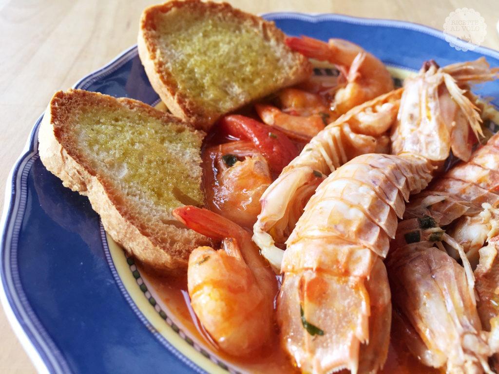 Zuppetta di pesce semplice ed economica