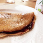 crepes integrali marmellata