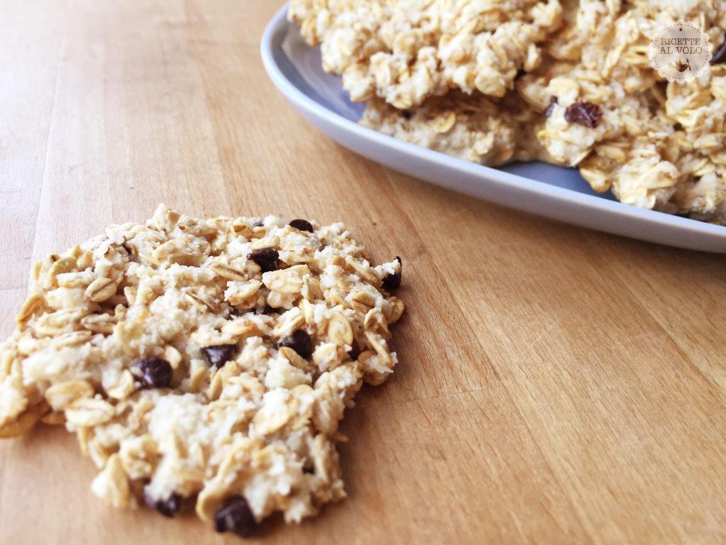 Biscotti proteici all'avena