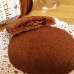 Biscotti ripieni di crema di nocciole