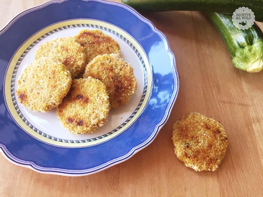 Medaglioni di zucchine e patate