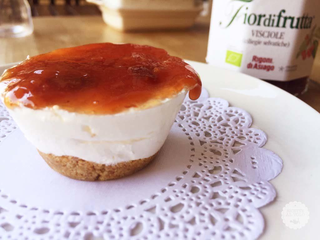 Semifreddi allo yogurt in monoporzione