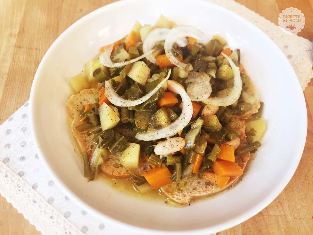 Ricetta della zuppa di pane toscana