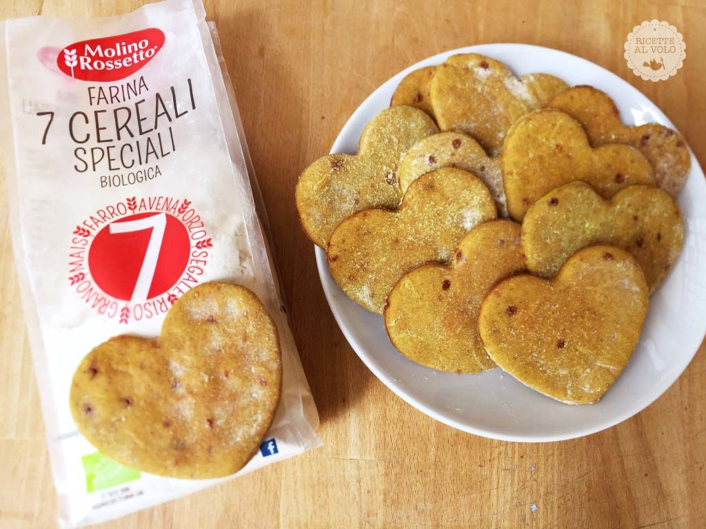 Biscotti alla curcuma, zenzero e cannella