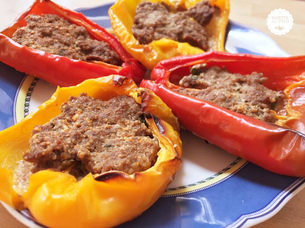 peperoni con carne