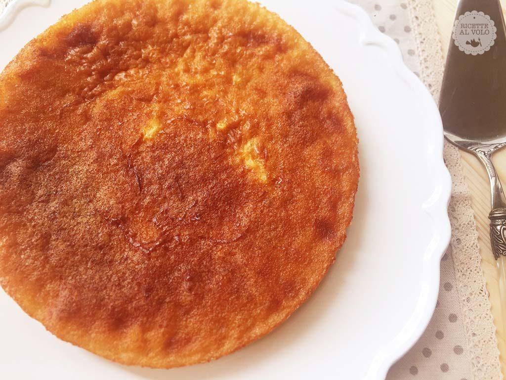 Torta di riso al profumo di vaniglia