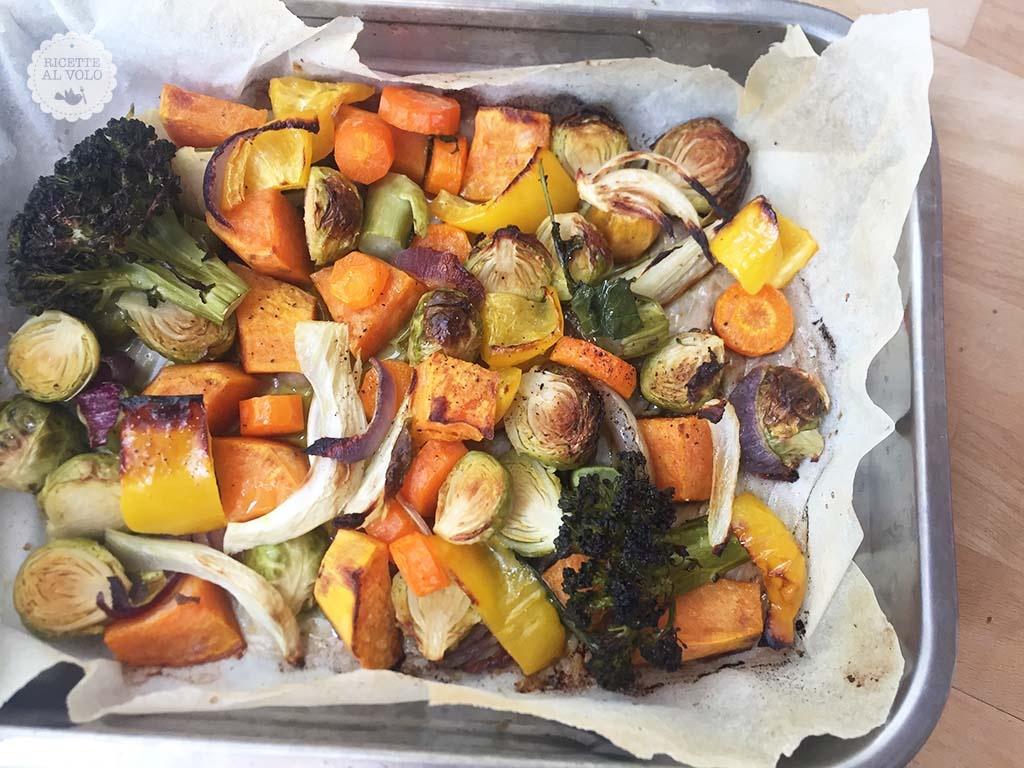 Teglia di verdure invernali al forno