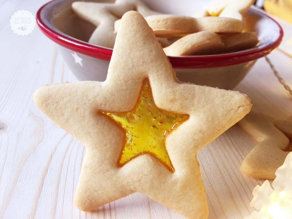 Biscotti Di Natale Effetto Vetro.Biscotti Di Natale Effetto Vetro Ricette Al Volo