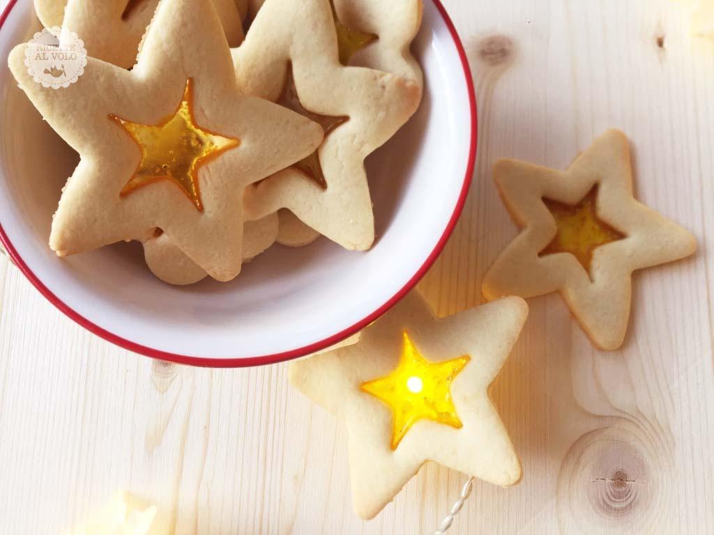 biscotti stella vetro