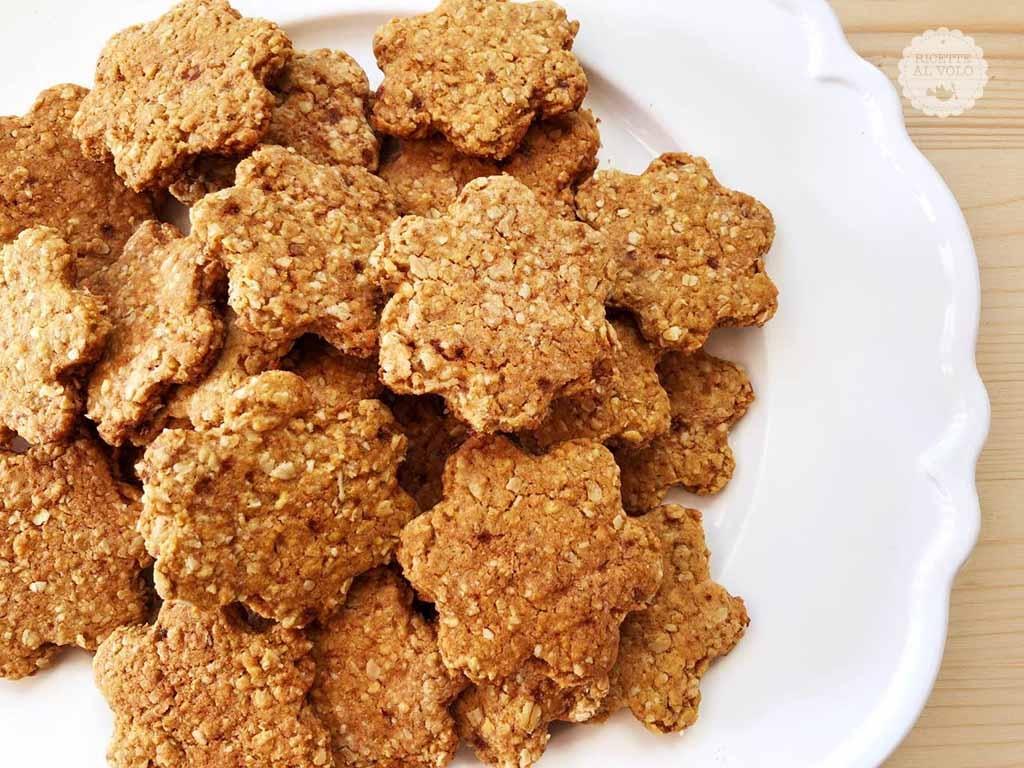 biscotti vegani fiocchi di avena