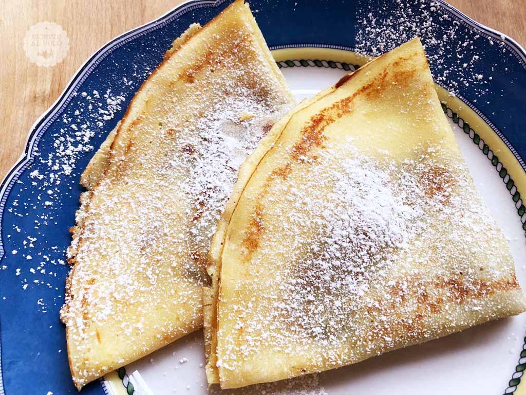 Ricetta crepes alla nutella 2 uova