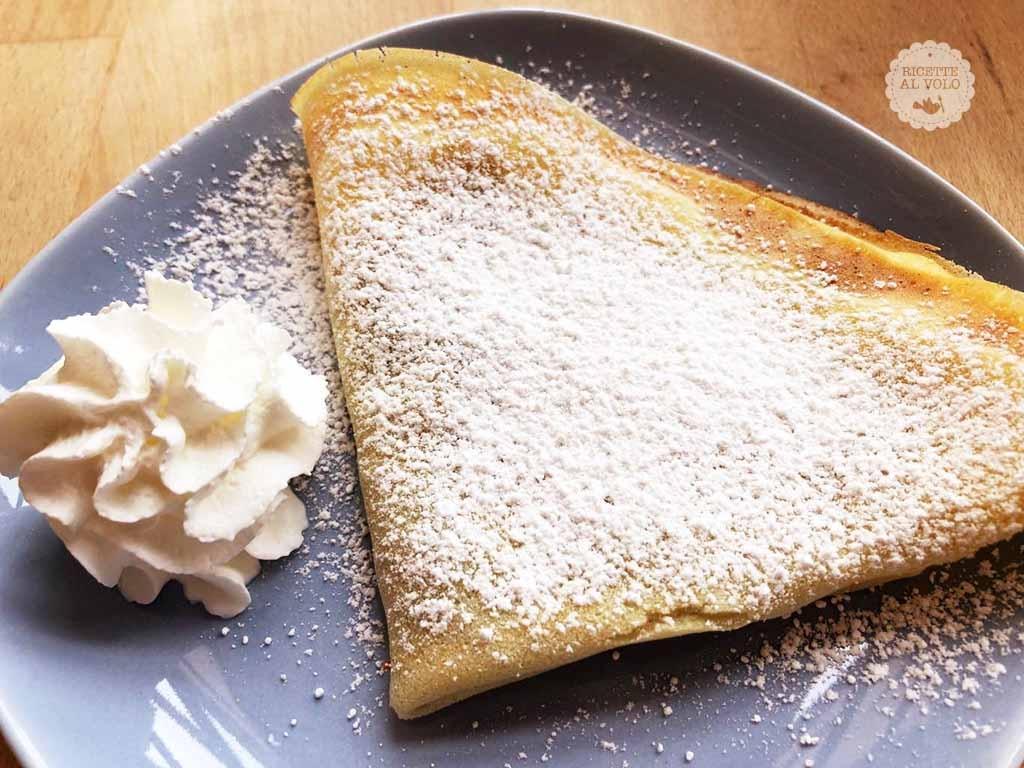 Ricetta crepes nutella senza zucchero