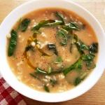 piatto zuppa avena
