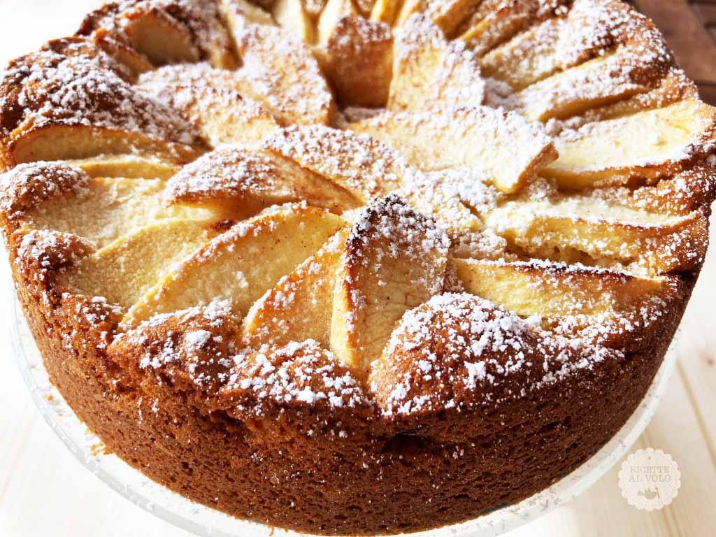 Torta di mele ricetta con 1 uovo ricette al volo for Cucina semplice ricette