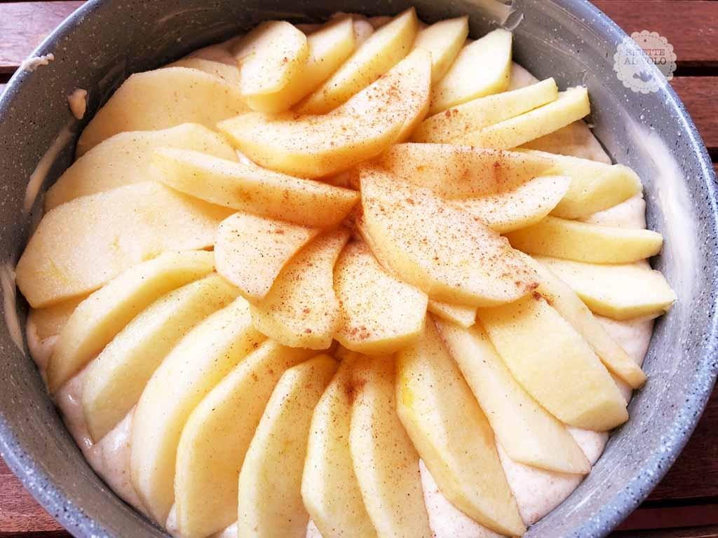 Torta di mele ricetta con 1 uovo