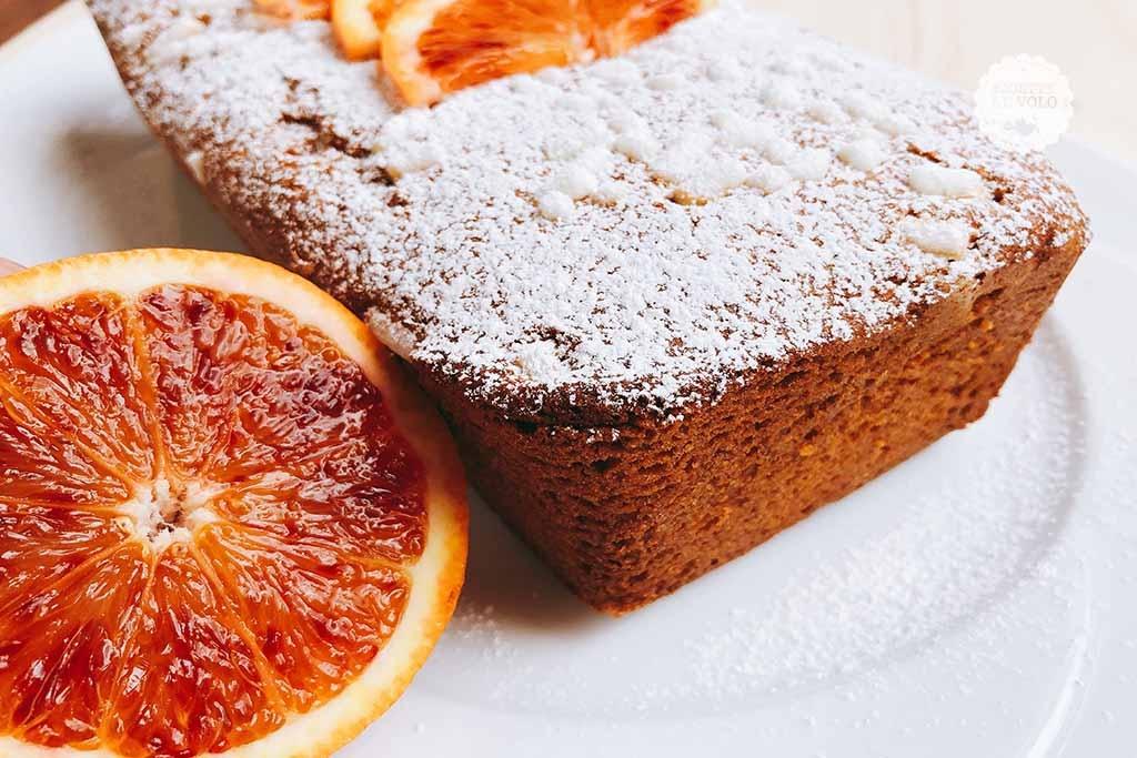 Plumcake all'arancia con farina tipo 2