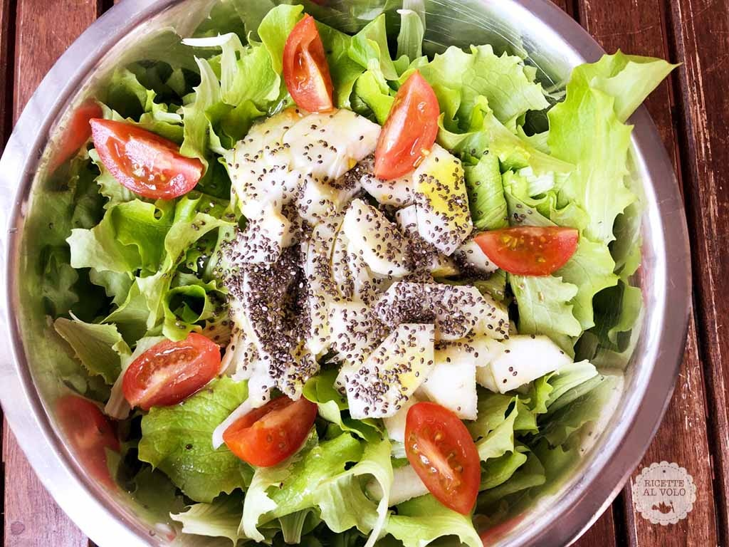 12 ricette per insalate veloci e sfiziose ricette al volo for Ricette insalate