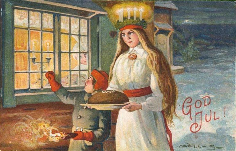 Panini di Santa Lucia (Lussekatter) ricetta svedese