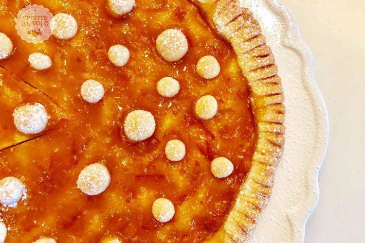 Crostata Senza Uova.Crostata Senza Uova Con Marmellata Di Agrumi E Zenzero