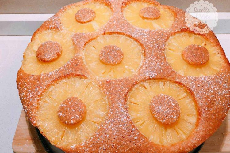 Ricetta Torta Senza Burro.Ricetta Torta All Ananas Senza Burro Ricette Al Volo