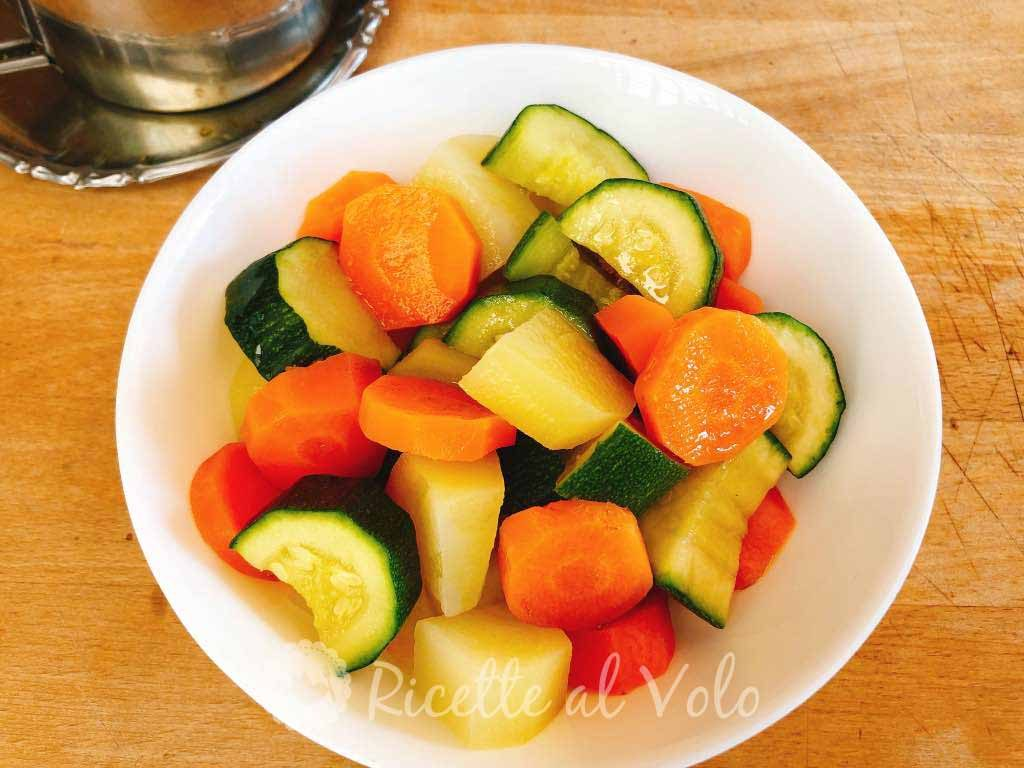 Ricetta Verdure Miste Cotte.Verdure Miste Cotte Al Microonde Ricetta Facile Ricette Al Volo