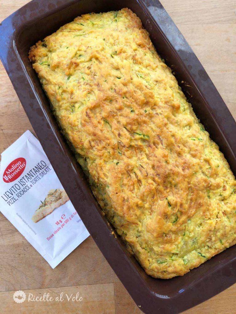 plumcake salato con le zucchine