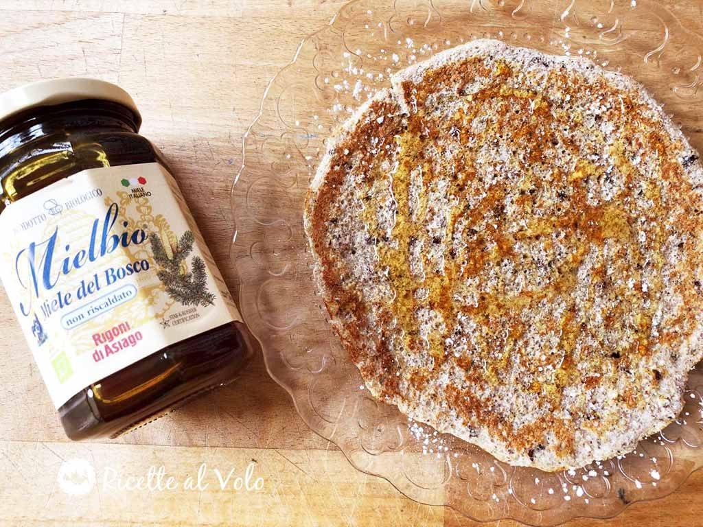 Crepes con farina di grano saraceno ricetta light