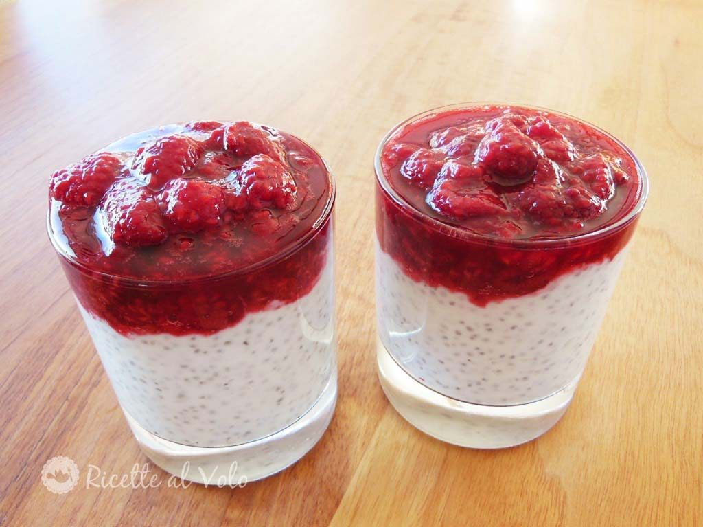 Chia pudding: budino ai semi di chia facile e veloce